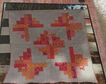 """Paper Pattern for a quilt  called Lily by Villa Rosa Designs 50"""" square"""