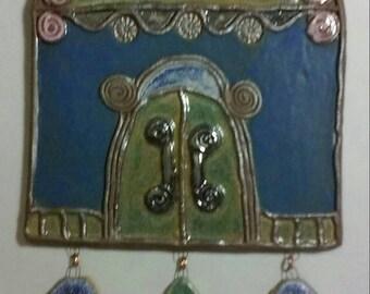 Stoneware Wall Hanging
