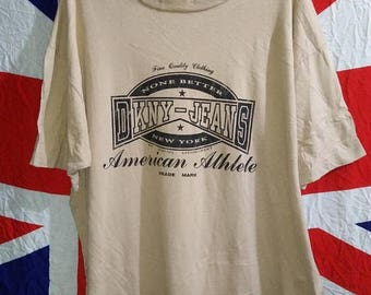 35% Off Authentic Vintage Dkny Jeans Donna Karan New York T-Shirt Made In Usa