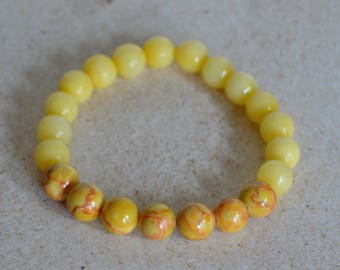 Men's Yellow Bracelet