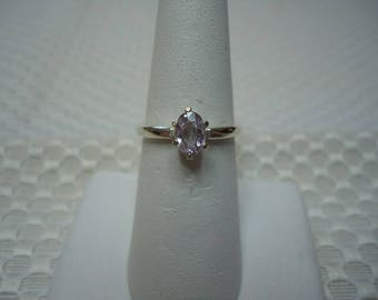 Oval Unheated Tanzanian Pink Sapphire Ring in Sterling Silver  #2019