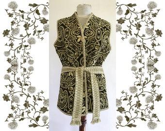 Vintage Tapestry Ethnic Vest