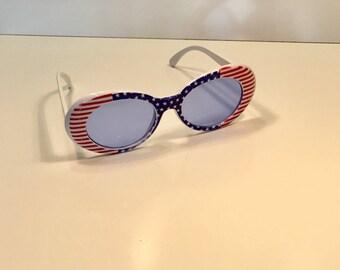 Vintage USA July 4th Sunglasses
