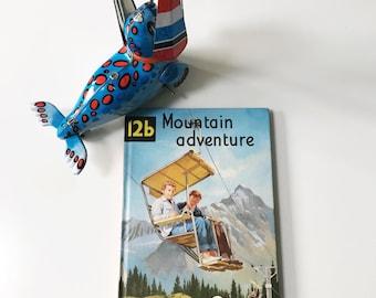 Vintage Ladybird Reading Book Mountain Adventure 12b, Matte Hardback