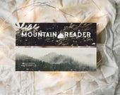 Mountain Reader - Bookmark
