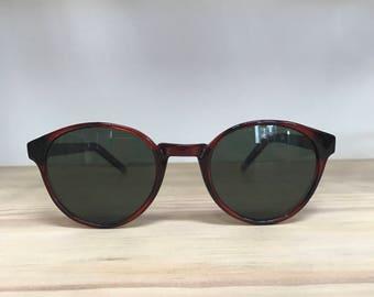 More colors tortoise round vintage sunglasses