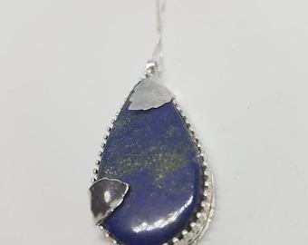 Lapis lazuli Necklace Lapis Lazuli Jewellery Birthstone Necklace September Birthstone Gemstone Necklace Lapis Lazuli Jewellery