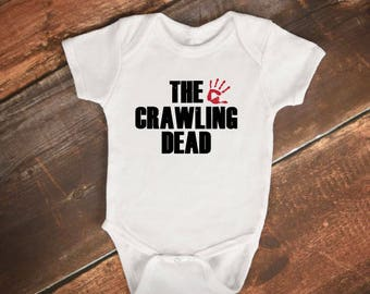 "Baby Bodysuit- ""The Crawling Dead"" - The Walking Dead"