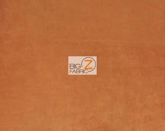 """Microfiber Suede Upholstery Fabric - MELON - 58"""" Width Sold By The Yard Passion Suede Microsuede"""