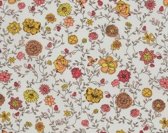 Flora Fusion - Liberty London tana lawn fabric