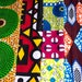 Fat quarter fabric bundle/ African quilt fabric/ Fat quarters fabric, mixed/ Ankara print fabric/ Fat Quarter/ Craft supplies / WB158