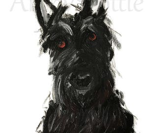 Scottie Dog  Art Print #409