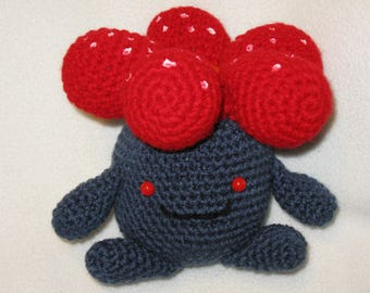 Vileplume pokemon amigurumi plush