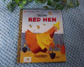 The Little Red Hen, Little Golden Book, 1982