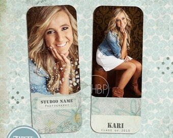 ON SALE NOW Instant Download Senior Rep Card Template Photoshop Senior / Any Occasion vol.3