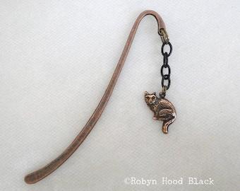 Copper Cat Mini Bookmark