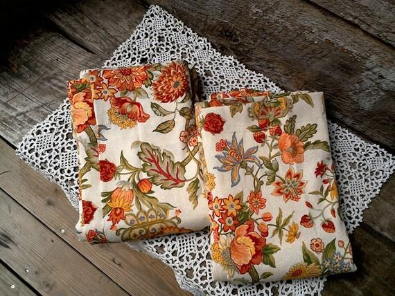 Handmade drapes Set of 2 curtains housewarming gift wedding gift bridal shower gift new home gift  christmas gift waverly fabric