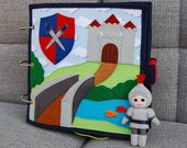 Quiet book Knight for boy