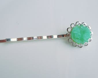 Druzy Hairpins Hair Accessories - Mint Green Druzy Bobby Pin - Bridesmaids Gift Hair Pretty