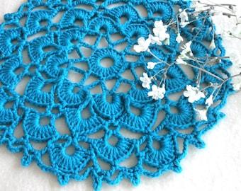 Placemat Crochet Table linens Crochet Doilies Tablecloth Crochet Doily Round Cotton Table  Home Decor Placemats