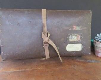 Vintage Suitcase Wedding Card Holder Reception Decor Seating Chart Holder Wedding Prop