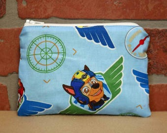 One Snack Sack, Reusable Lunch Bags, Waste-Free Lunch, Machine Washable, Paw Patrol, Back to School, School Lunch, item #SS86