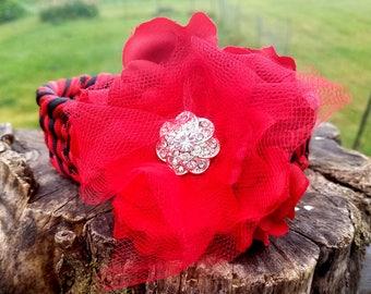 Custom Flower Collar Add On, Choose your Colors, Dog Wedding Wear, Pretty Dog Collar Add On, Fits Any Collar, Great for Wedding or Photos