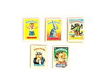 Vintage Collectible Garbage Pail Kids Stickers (Complete 3rd Series Set) Third Series