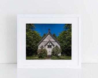 Quaint Little Church - Urban Exploration - Fine Art Photography Print