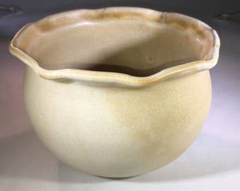 Small Pottery Bowl, Ceramic Bowl, Soup Bowl, mixing bowl