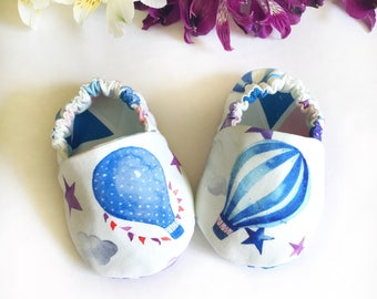 Sky Dream   baby cotton moccs