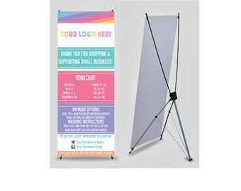 Lula Banner with X Stand