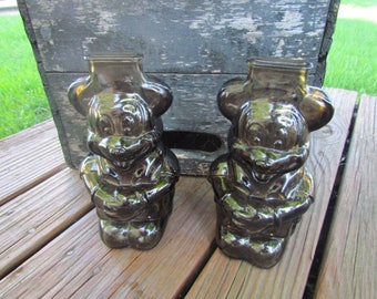 Mickey Mouse Glass Piggy Banks