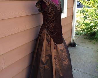 Victorian costume dress