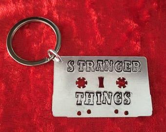 Cassette tape 80's gift. Retro gift. Friends Don't Lie Keyring. Stranger Things Gift. Light Bulbs. TV Eleven. Mike, dustin, will lucas.