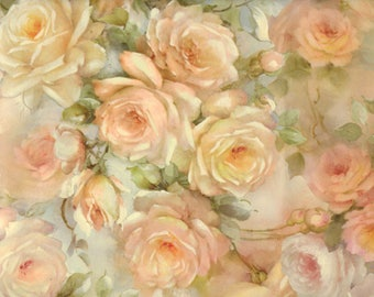 Pastel rose - wrapping paper from Italy