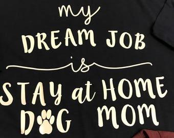 Dog Mom soft feel shirt