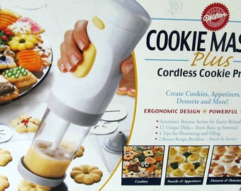 how to use wilton cookie master plus