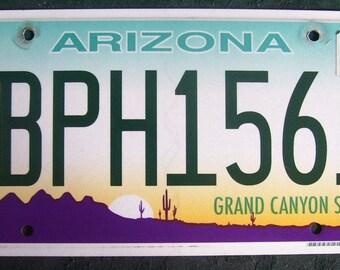 ARIZONA BPH1561 American License Number Plate
