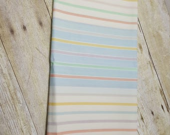 Vintage Pillowcase, standard, rainbow, 1970s