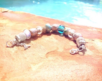 Spring Pastels Beaded Bracelet - MY LIFE SERIES by Precision Princess