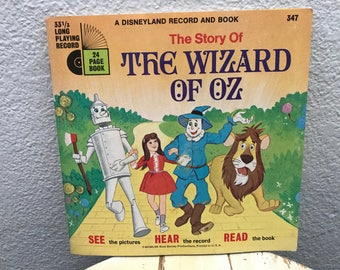 The Wizard Of Oz - Includes 24 Page Read Along Book and Record