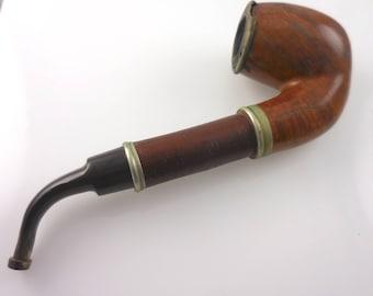 Pipe Estate Pipe Tobacco Pipe  Master Algerian Briar Tyrolienne
