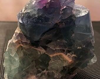 Rough Rainbow Fluorite