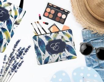 Boho Make Up Bag - Can Be Personalised - Boho Makeup Bag - Matching Tote Bag Available