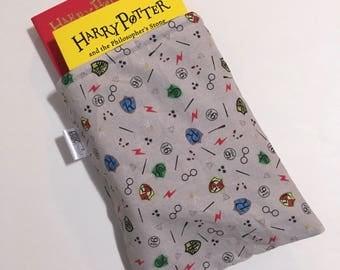 Harry Potter book sleeve, Harry Potter book saver, Harry Potter book protector, hardcover book sleeve, Dobby book sleeve