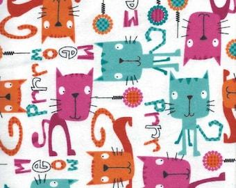 Cats Print, Fabric Car Seat Pillow, CHILDREN/ADULT, Travel pillow, Couch pillow, Neck pillow