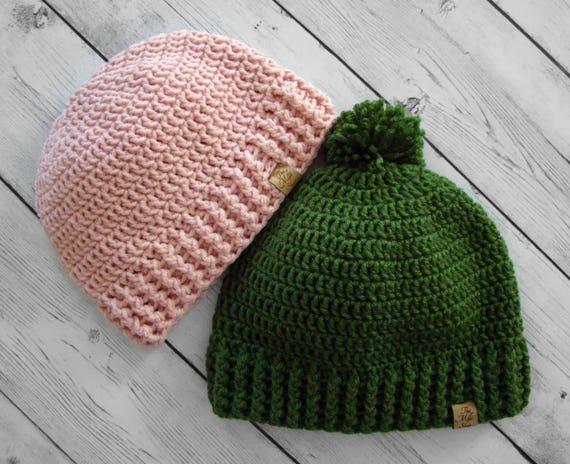 9575bdd49c9 Bellamie Beanie   Crochet Beanie Pattern   Boy   Girl   Infant ...