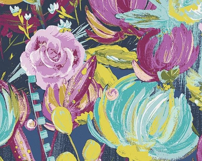 Art Gallery Fabric VOILE  BariJ Painted Desert Night Sage Collection /BariJ/