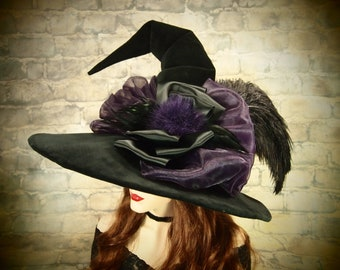 "Witch Hat ""Purple Romance"""